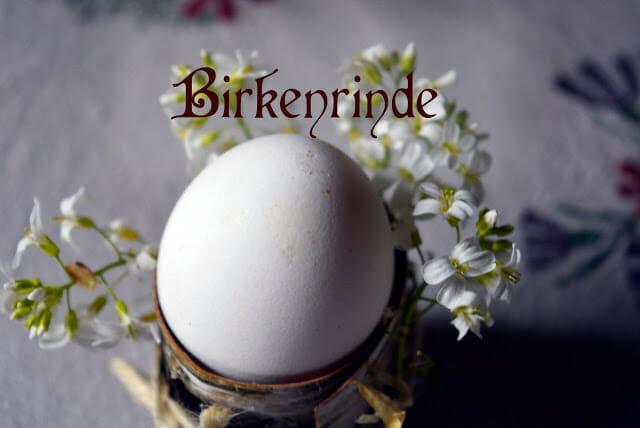 Eierbecher, Ostern