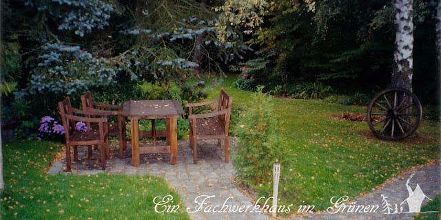 Sitzplatz, Garten, Gartenmoebel