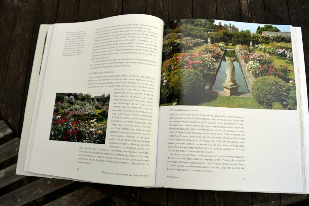 David Austin, Faszination englischer Rosen, Rosengarten