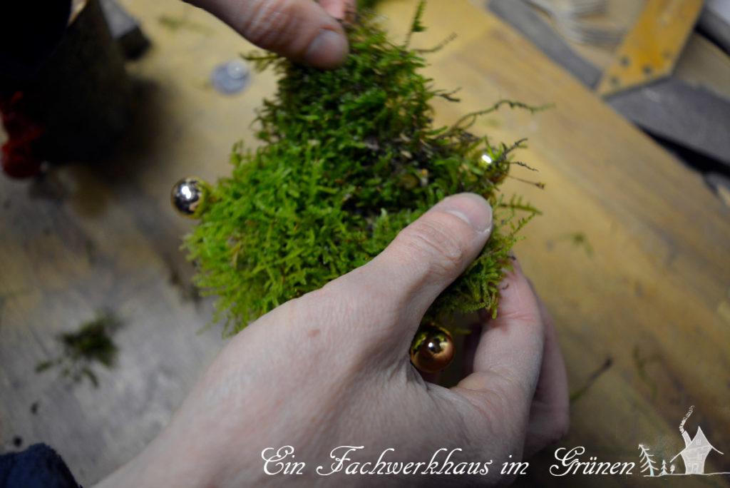 Adventsdeko, Weihnachtsdeko, Kerzen, DIY Deko
