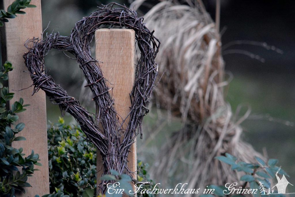 Herz aus Zweigen